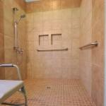 Roll-in Walk-in Shower